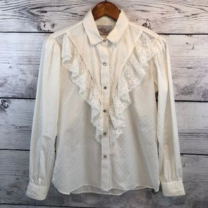 Kenny Rogers by Karman Western Pearl Snap Shirt 36